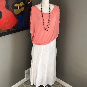 Sonoma Cotton Maxi Skirt